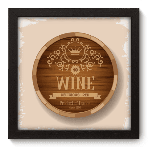 Quadro Decorativo - Wine - 050qddp
