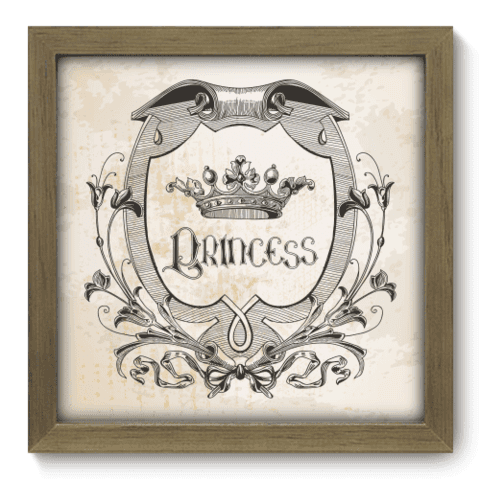 Quadro Decorativo - Princess - 050qdim