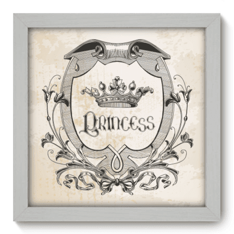 Quadro Decorativo - Princess - 050qdib