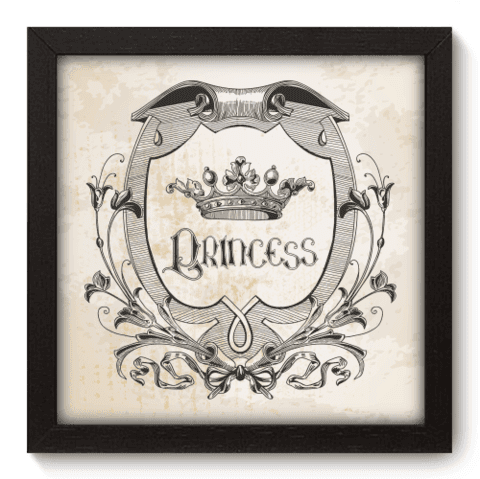 Quadro Decorativo - Princess - 050qdip