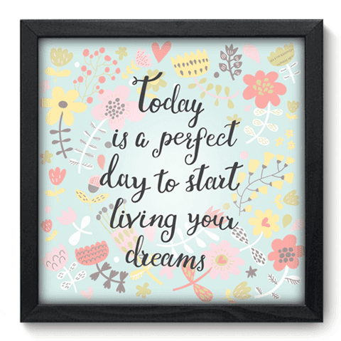 Quadro Decorativo - Start Living - 052qdrp