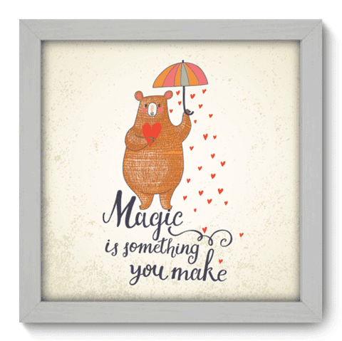 Quadro Decorativo - Magic - 053qdrb