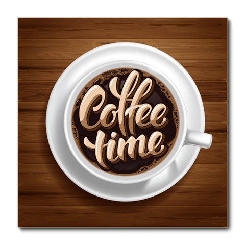 Placa Decorativa - Café - 0549plmk