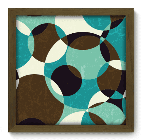 Quadro Decorativo - Abstrato - 054qdam