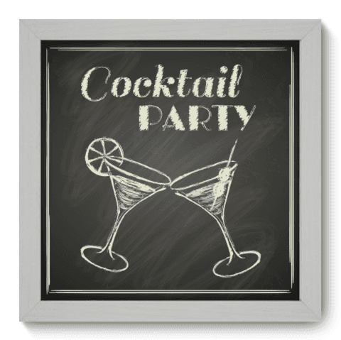 Quadro Decorativo - Cocktail - 054qdcb