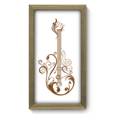Quadro Decorativo - Guitarra - 054qdgm