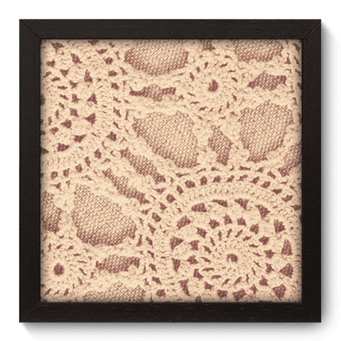 Quadro Decorativo - Crochet - 054qdvp