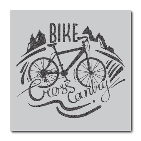 Placa Decorativa - Bicicleta - 0554plmk