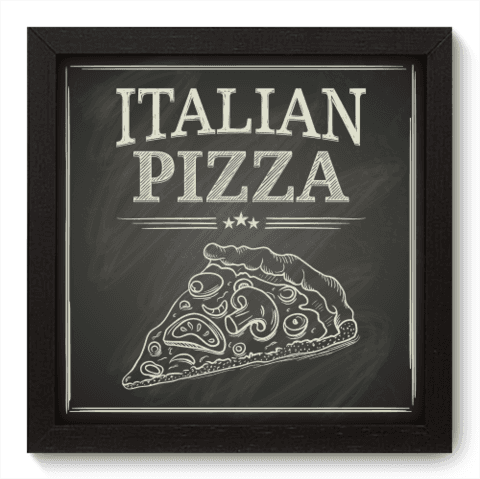 Quadro Decorativo - Pizza - 055qdcp