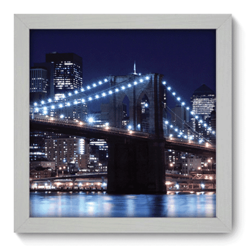 Quadro Decorativo - Brooklyn Bridge - 056qdmb