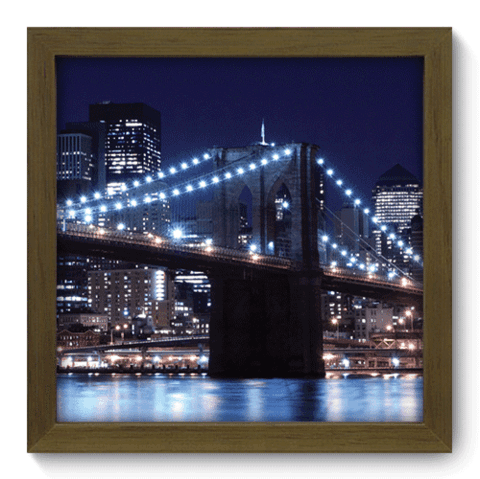 Quadro Decorativo - Brooklyn Bridge - 056qdmm