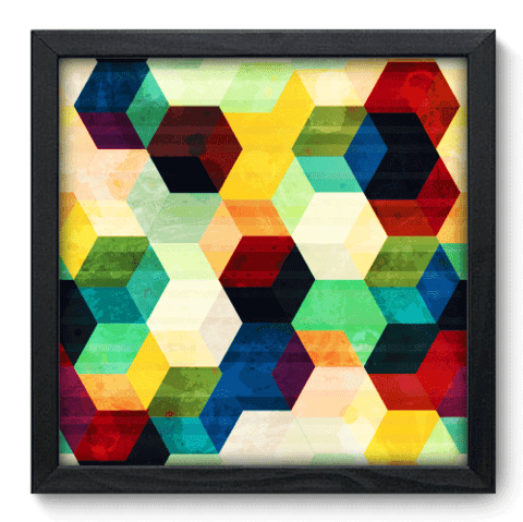 Quadro Decorativo - Abstrato - 059qdap