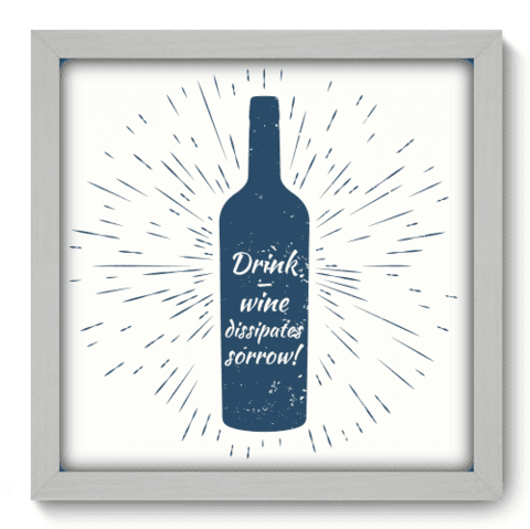 Quadro Decorativo - Wine - 061qdrb