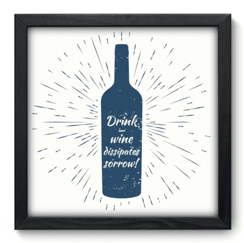 Quadro Decorativo - Wine - 061qdrp