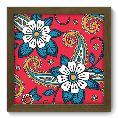 Quadro Decorativo - Indiano - 063qddm