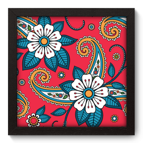 Quadro Decorativo - Indiano - 063qddp