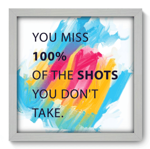 Quadro Decorativo - Shots - 063qdrb