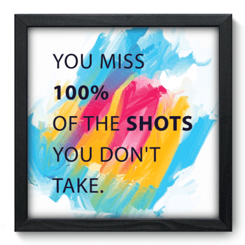 Quadro Decorativo - Shots - 063qdrp