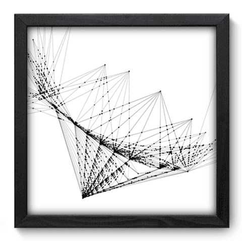 Quadro Decorativo - Abstrato - 064qdap