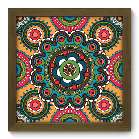 Quadro Decorativo - Indiano - 065qddm