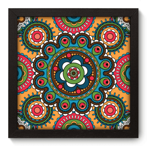 Quadro Decorativo - Indiano - 065qddp