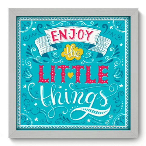 Quadro Decorativo - Enjoy - 065qdrb