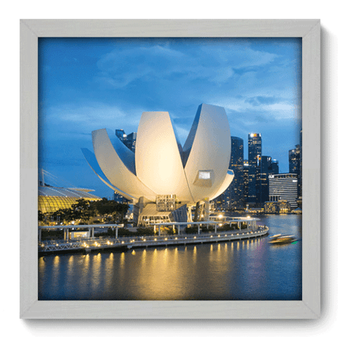 Quadro Decorativo - Marina Bay - 066qdmb