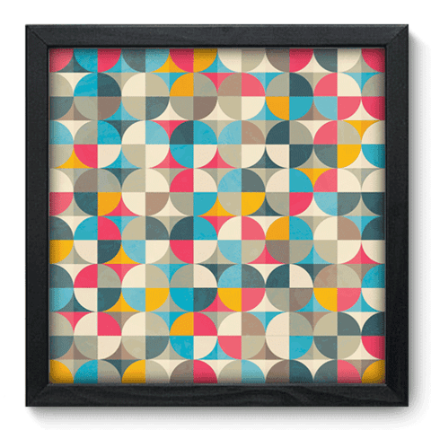 Quadro Decorativo - Abstrato - 067qdap