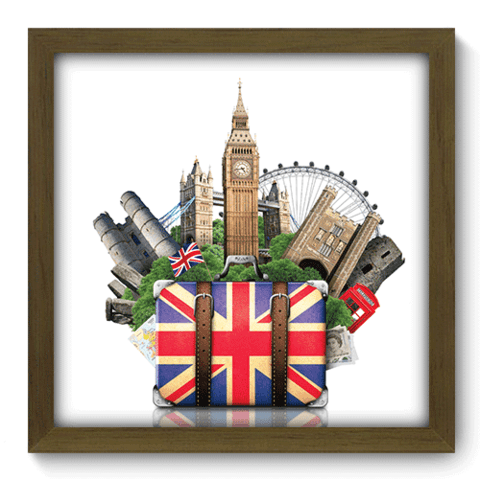 Quadro Decorativo - London Trip - 068qdmm
