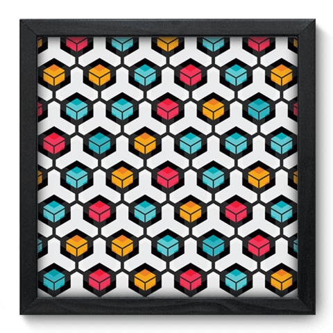 Quadro Decorativo - Abstrato - 069qdap