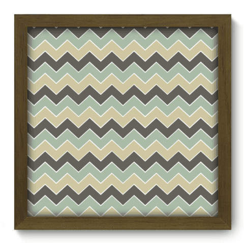 Quadro Decorativo - Chevron - 070qdim