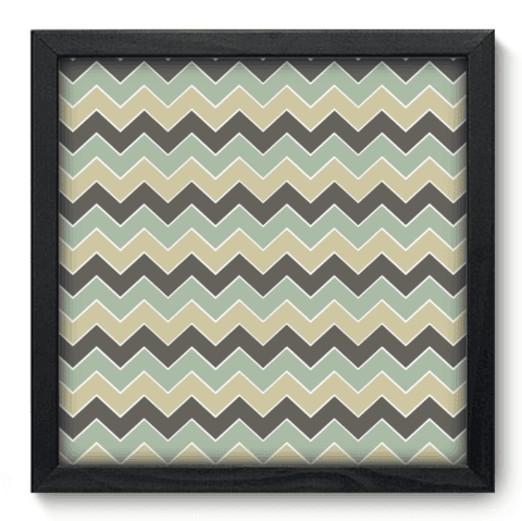 Quadro Decorativo - Chevron - 070qdip