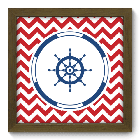 Quadro Decorativo - Navy - 072qdim