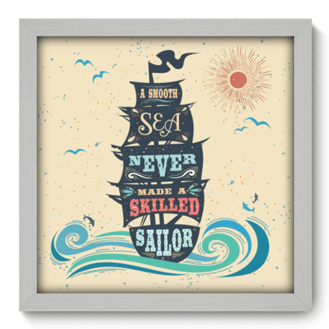 Quadro Decorativo - Sailor - 072qdrb