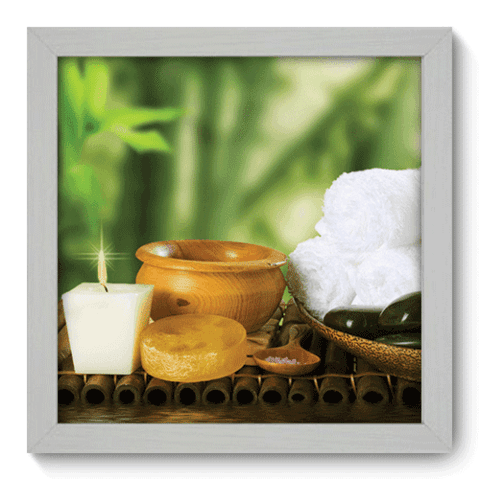 Quadro Decorativo - Spa - 073qddb