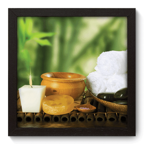 Quadro Decorativo - Spa - 073qddp