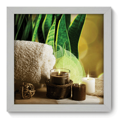 Quadro Decorativo - Spa - 074qddb