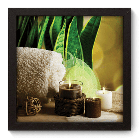 Quadro Decorativo - Spa - 074qddp