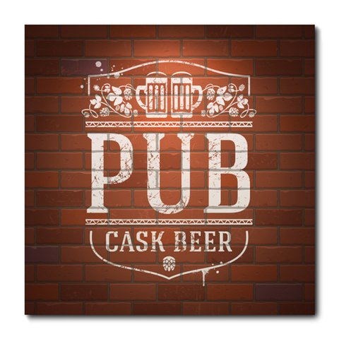 Placa Decorativa - Pub Beer - 0752plmk
