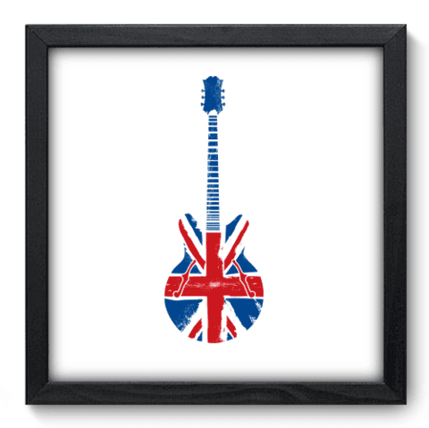 Quadro Decorativo - Guitarra - 075qdgp