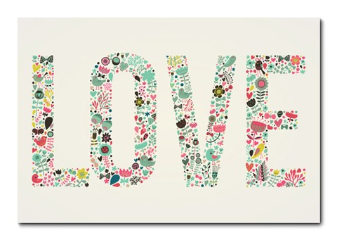 Placa Decorativa - Love - 0761plmk