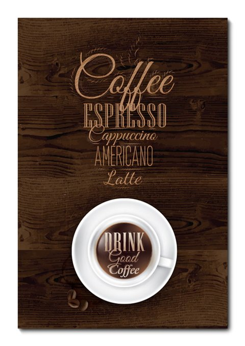 Placa Decorativa - Coffee  - 0767plmk