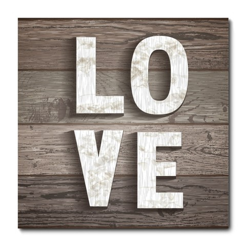 Placa Decorativa - Love - 0769plmk