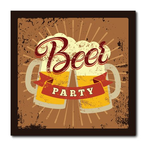 Placa Decorativa - Beer - 0773plmk