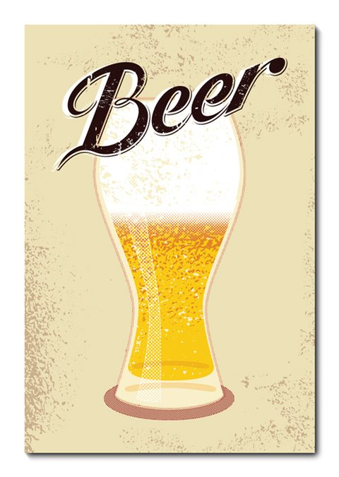 Placa Decorativa - Beer - 0777plmk