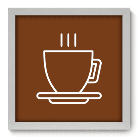 Quadro Decorativo - Coffee - 077qdcb