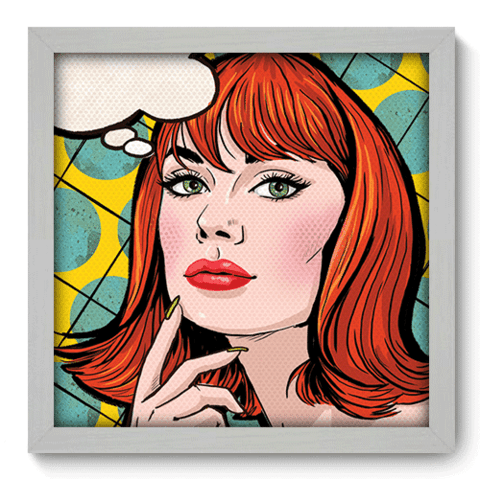 Quadro Decorativo - Pop Art - 077qdvb