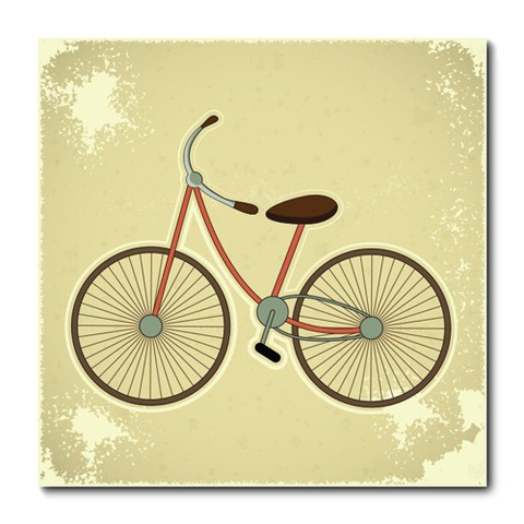 Placa Decorativa - Bicicleta - 0787plmk