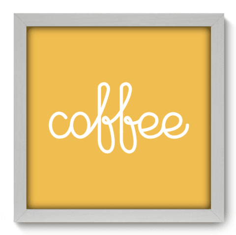 Quadro Decorativo - Coffee - 078qdcb