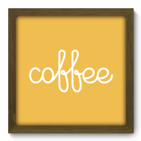 Quadro Decorativo - Coffee - 078qdcm